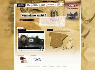 "Página web de ""El camino MBT""."